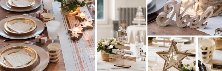 Idees De Decoration De Tables De Noel Et Fetes De Fin D Annee