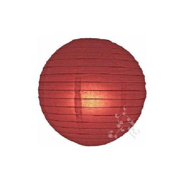 lampion boule chinoise bordeaux 1001 d co table. Black Bedroom Furniture Sets. Home Design Ideas