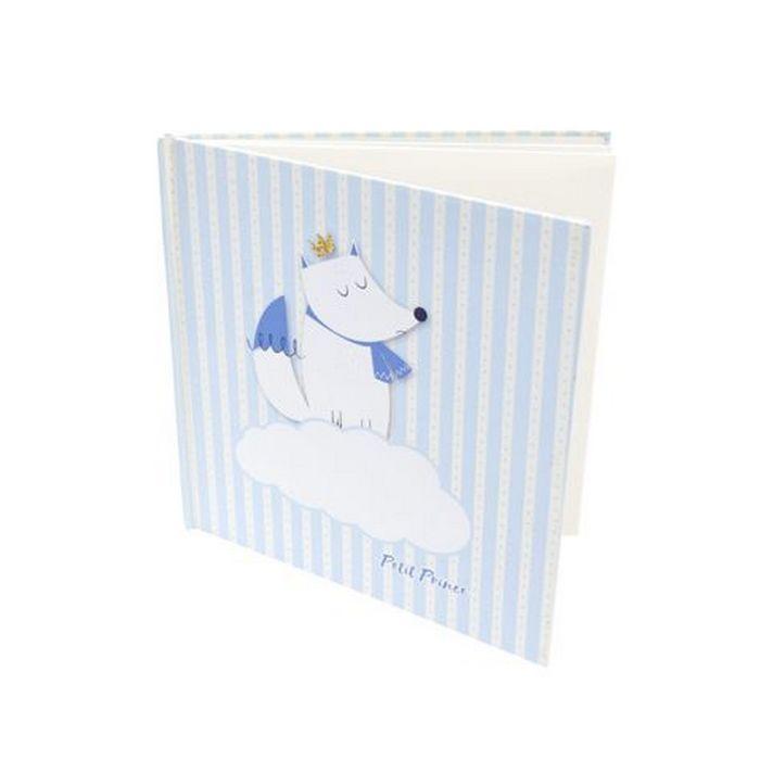 Livre D Or Bapteme Renard Bleu