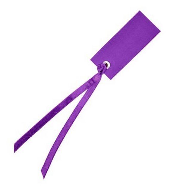 marque place porte nom tiquette ruban violette x12 1001 d co table. Black Bedroom Furniture Sets. Home Design Ideas
