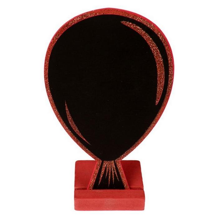Acheter Marque Table Ardoise Ballon Paillet Rouge Marques Place Menu Etiquettes 1001 Deco Table
