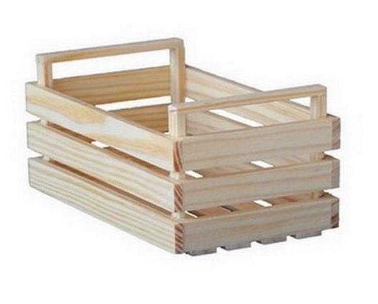 mini cagette en bois 10cm 1001 d co table. Black Bedroom Furniture Sets. Home Design Ideas