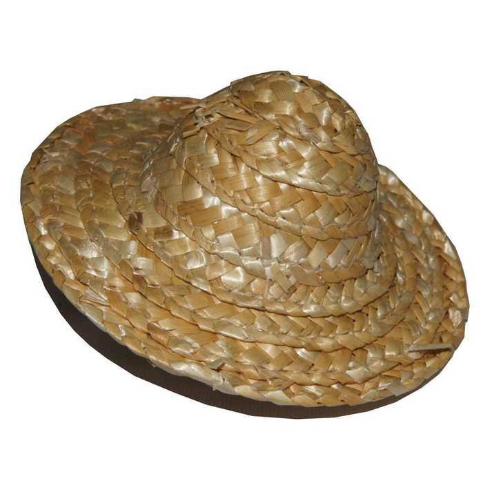 sensation de confort handicaps structurels magasin en ligne Mini chapeau de paille conique 8cm