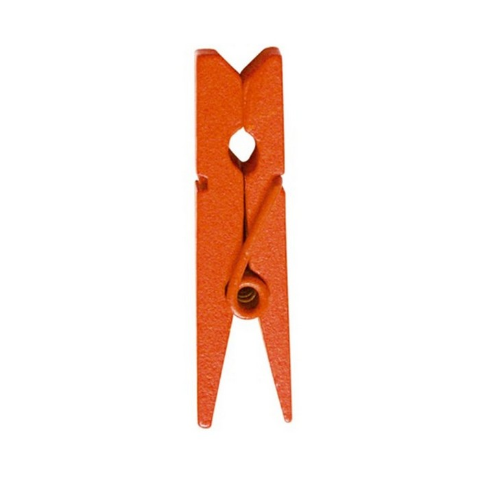 mini pince linge orange x24 1001 d co table. Black Bedroom Furniture Sets. Home Design Ideas