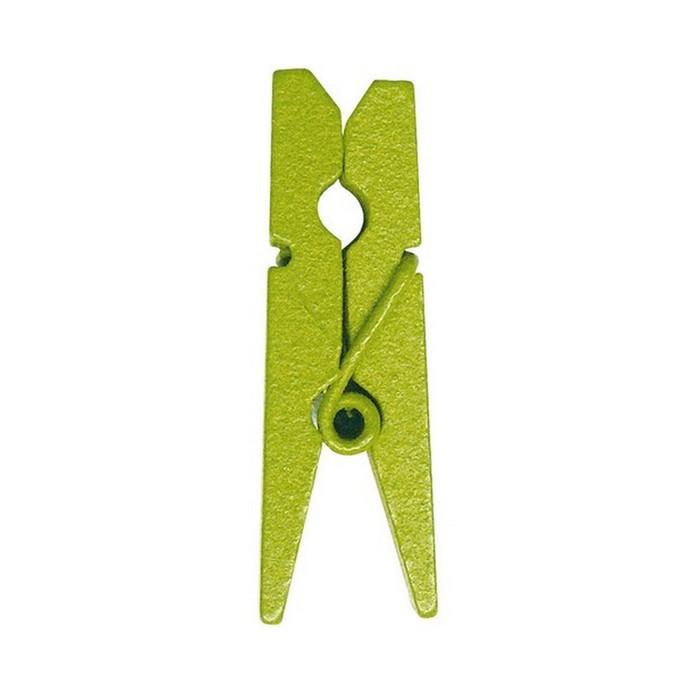 mini pince linge vert anis x24 1001 d co table. Black Bedroom Furniture Sets. Home Design Ideas