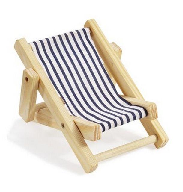 mini transat en bois bleu et blanc 1001 d co table. Black Bedroom Furniture Sets. Home Design Ideas