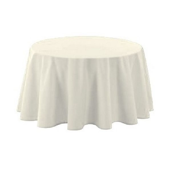 nappe polyester blanche 1001 d co table. Black Bedroom Furniture Sets. Home Design Ideas