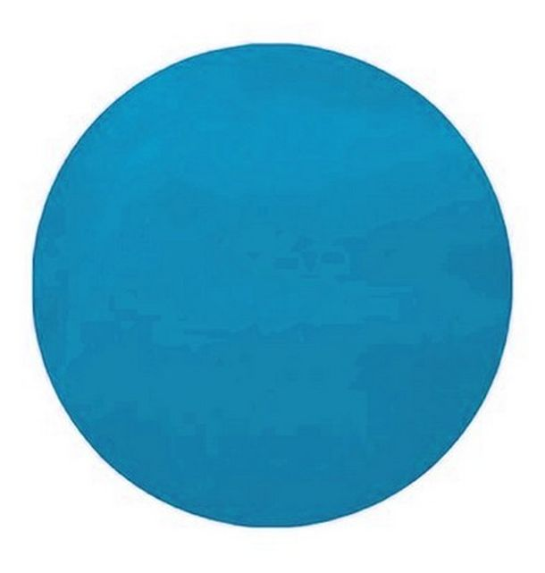 Sets De Table Jetables Ronds Turquoise 34 Cm Pas Chers